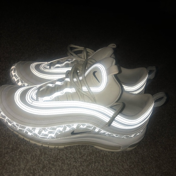 Nike Shoes Air Max 97 White Reflective Poshmark